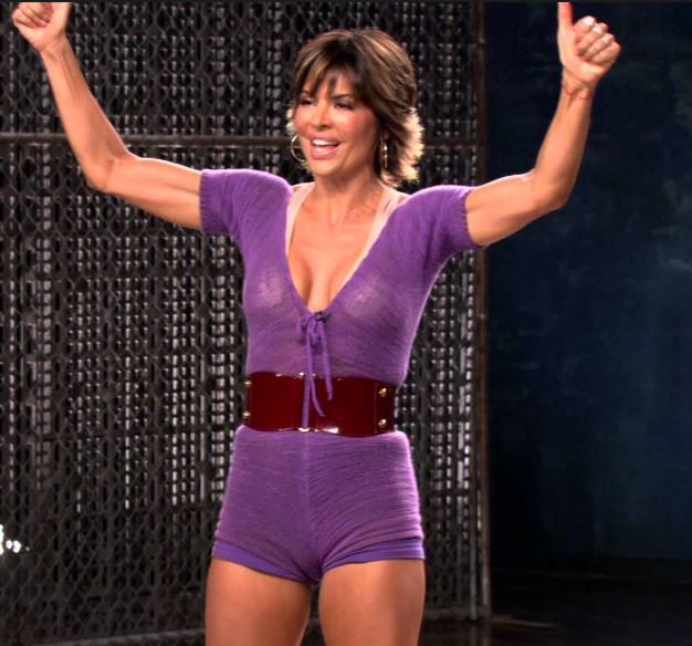 Lisa Rinna Dance