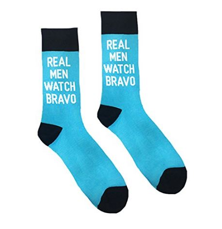 Real men watch bravo socks