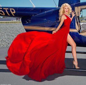 gretchen rossi dress