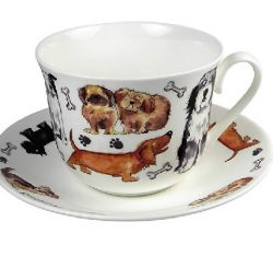 Lisa Vanderpump Dog Tales Teacup and Saucer